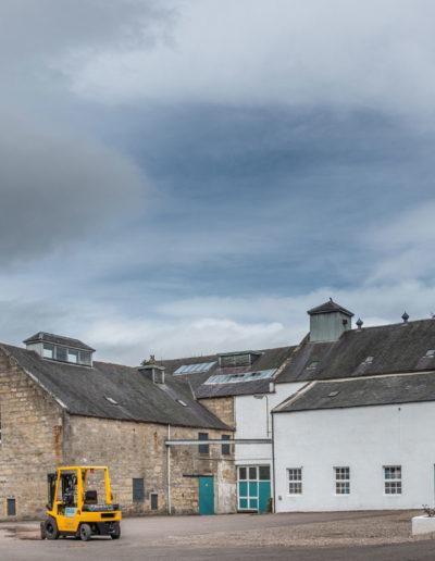 Coleburn Distillery Courtyard